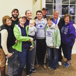 All of us at HPU last weekend! Go Panthers!